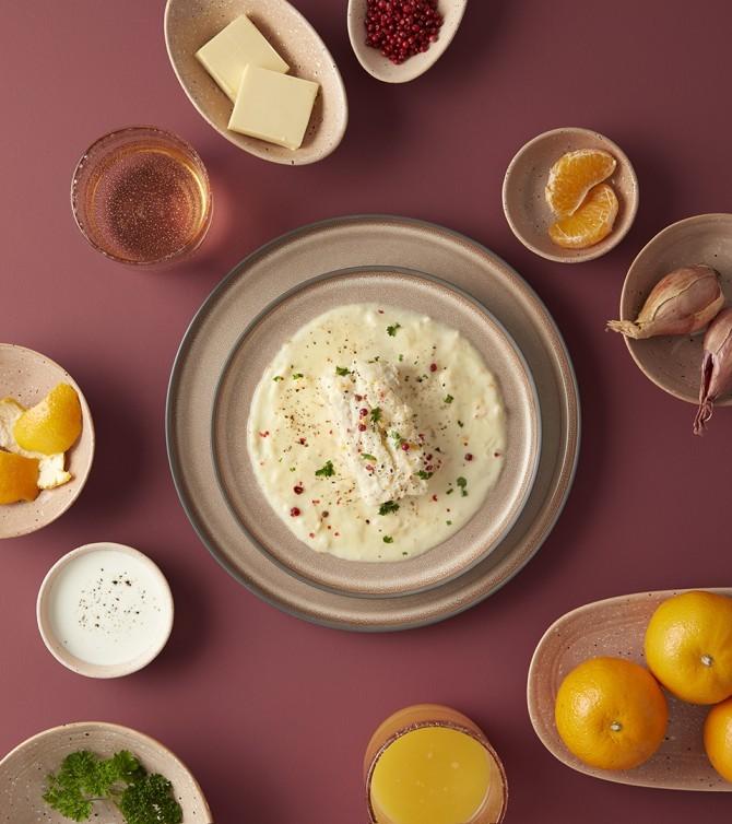 Cabillaud sauce beurre d'agrumes -Le Petit Cuisinier