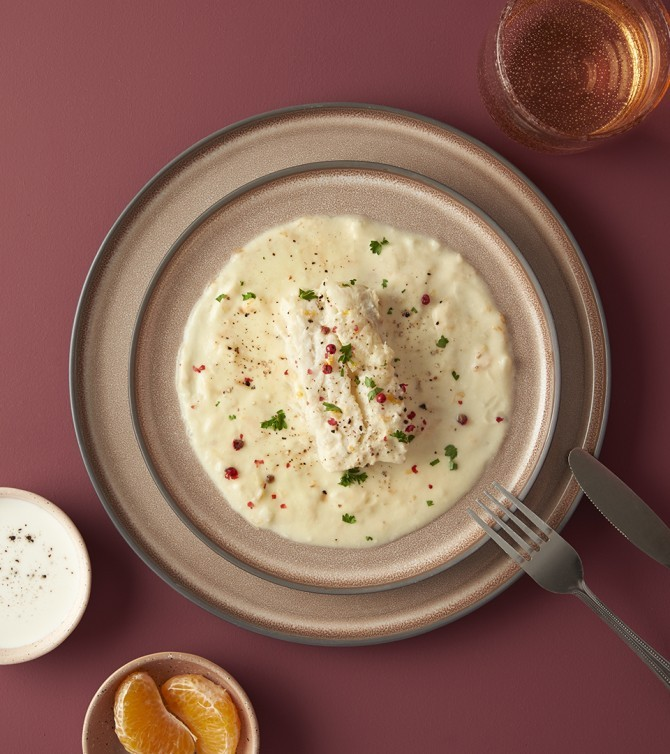 Cabillaud sauce beurre d'agrumes - Le Petit Cuisinier