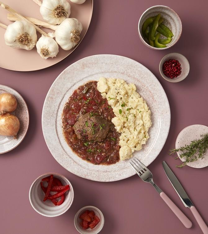 Paupiette de bœuf à la provençale - Le Petit Cuisinier