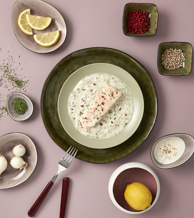 Saumon à l'oseille-Le Petit Cuisinier