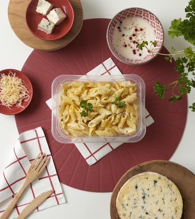 Pâtes aux 3 fromages-Le Petit Cuisinier