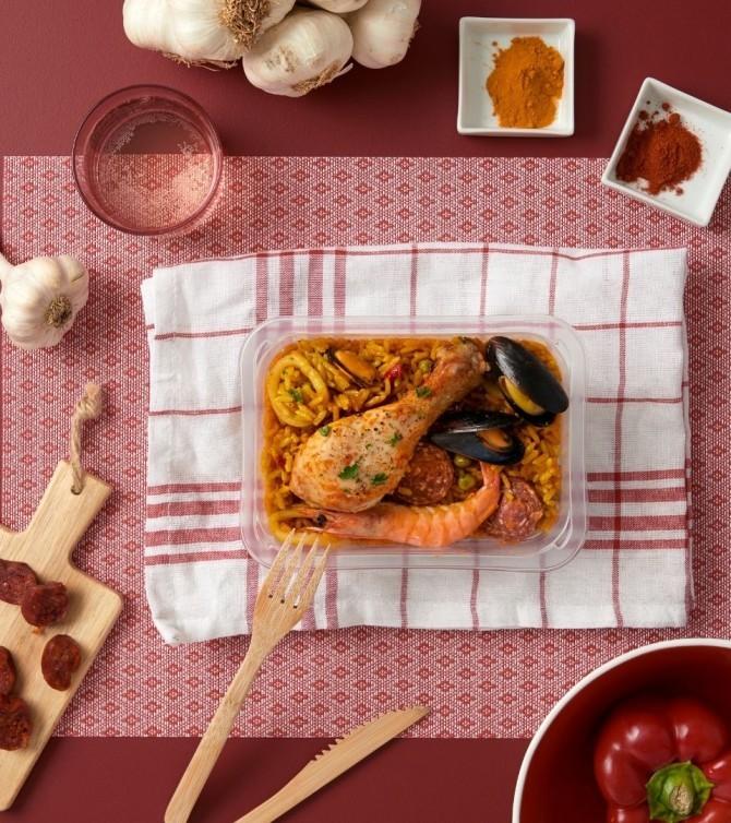 paella - le petit cuisinier