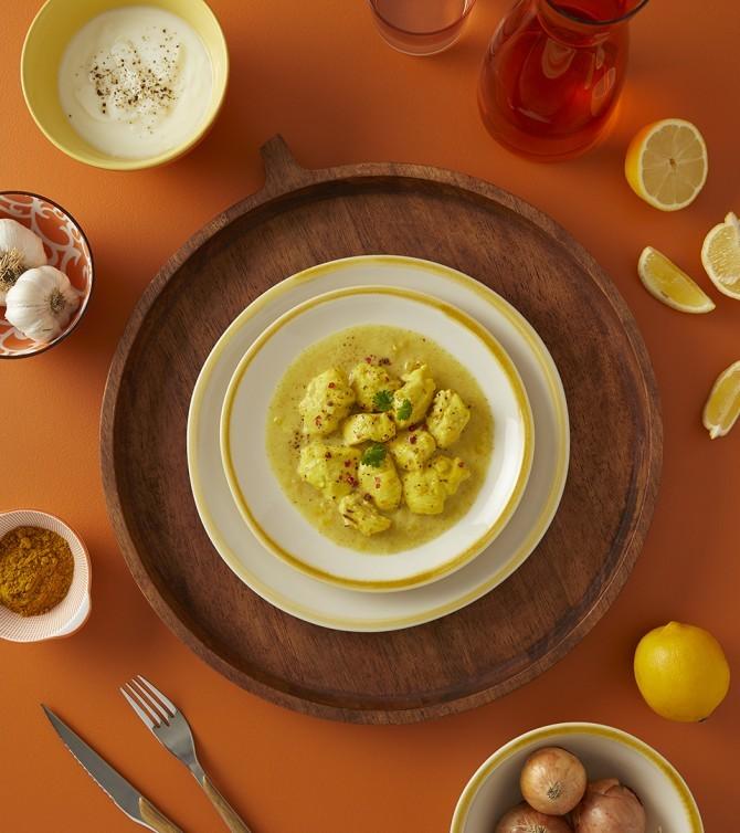 bouchées de poulet curry/coco