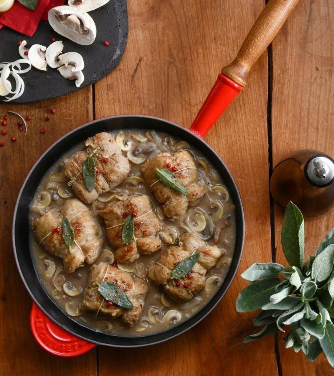 Paupiette de veau aux champignons, 4 parts - Le Petit Cuisinier