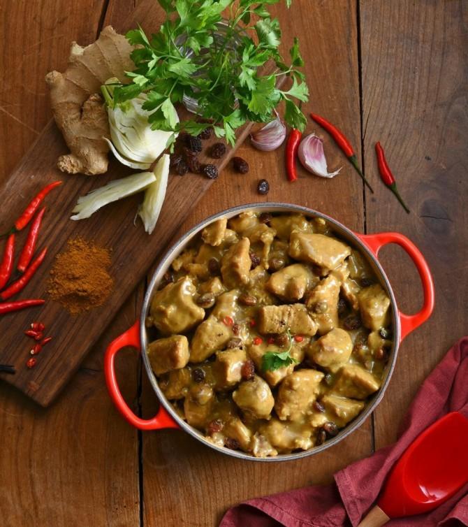 Colombo de porc, 4 parts - Le Petit Cuisinier