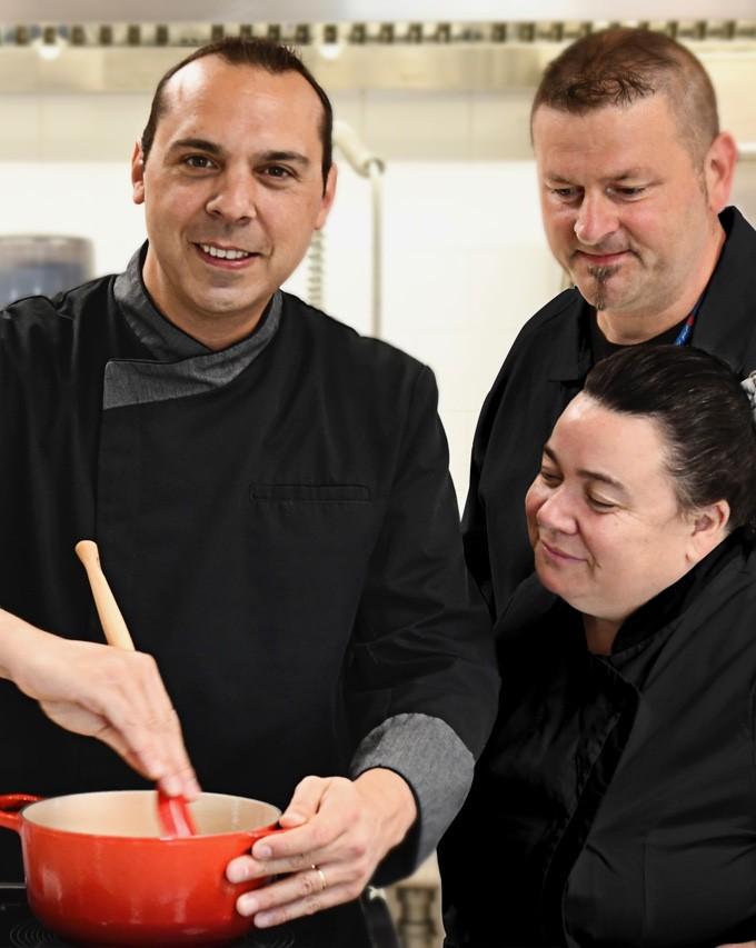 nos chefs chez Le Petit Cuisinier